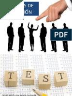 Aplicacion de la prueba seleccion