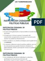 2. PARTICIPACION CIUDADANA EN POLITICAS PUBLICAS presentacion