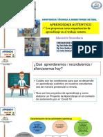 Aprendizaje Autentico - Proyectos de Aprendizaje - Carlos Sánchez, Víctor Bastidas y Rode Huillca