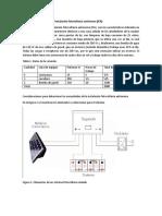 Ejemplo de cálculo de una instalación fotovoltaica autónoma