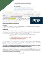 Aula 2 - Organização da Administração Pública.docx
