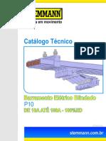 Barramento Eletrico Blindado P10