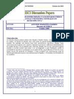 Negociaciones España Estados Unidos 1953-1982