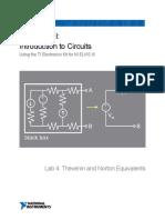 Lab4-TheveninandNorton-IntroductiontoCircuits