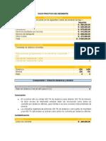 CASO PRACTICO DE DESMONTE