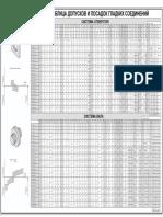 () Таблица Допусков и Посадок Валов и Отверстий