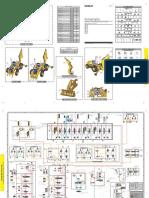 Diagrama Hidraulico Retroexcavadora 420F2 Serie NSB