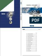 (NIS) General Catalogue (Bearings)
