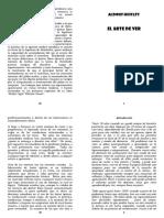 Huxley Aldous - Un Arte De Ver [doc] LISTO A4 COSER