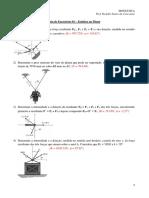 Exercícios Isostática 01 - Estática no Plano