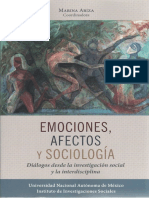 Marina Ariza (coord.) - Emociones, afectos y sociología - diálogos desde la investigación social y la interdisciplina