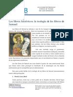 03. Los libros historicos - Teologia de los libros de Samuel