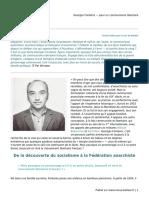 Georges Fontenis— pour un communisme libertaire