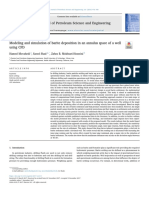 2018 Movehedi et al. - Modeling and simulation of barite deposition in an annulus space of a well