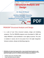 PROKON Structural Analysis and Design