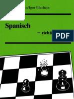 Nesis Gennady & Blechzin Igor - Spanisch - Richtig gespielt, 1990-OCR, 89p