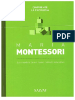 7. María Montessori. La creadora de un nuevo método educativo