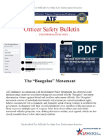 "ATF Warns Police of The ""Boogaloo Movement"""