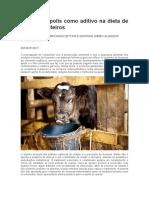 Uso de própolis como aditivo na dieta de bezerros leiteiros