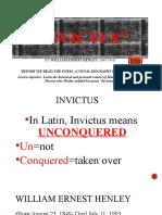 Invictus ppt notes