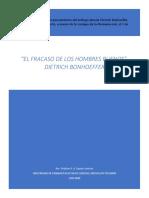 El Fracaso de Los Hombres Buenos, , Dietrich Bonhoeffer