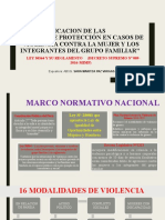 VIOLENCIA FAMILIAR CEFICAP 2018- DR MARTIZA