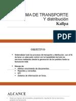 Presentacion Software de Sistema de Transporte de combustible