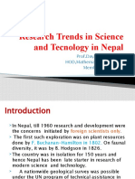 Research Trends In Nepal