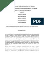 NIÑOS ABANDONADOS, CAUSAS, CONSECUENCIAS Y SOLUCIONES.pdf