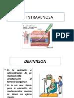 VIA  INTRAVENOSA[1] y intrmuscular