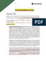 Material Exégesis de Romanos-M.Th. M. Sandoval-1