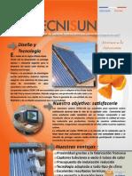 TECNISUN_plaquette commerciale espagnole 060111