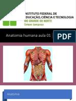 Anatomia humana aula 01