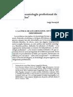 Sobre la deontología profesional de los abogados -Ferrajoli
