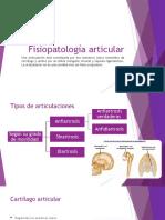Fisiopatología articular