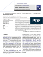 3D form line construction by structural field interpolation (SFI) of geologic strike and dip observations.pdf