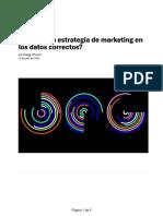 ¿Se basa su estrategia de marketing en los datos correctos_