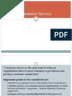 Unit 2 - Customer Service