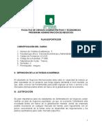 PROGRAMA ADMINISTRA CION DE NEGOCIOS PLAN EXPORTADOR