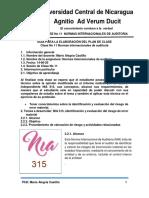 CLASE No 11 NORMAS INTERNACIONALES DE AUDITORÍA