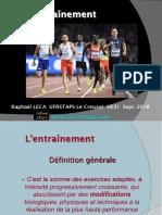 Définitions et principes de l'entraînement sportif (2)