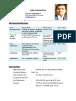 Shankar_Curriculum Vitae 2020