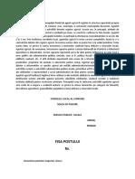 FISA-POSTULUI-AGENT AGRICOL SI SOCIAL