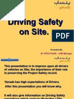 Driving on Site Yansab
