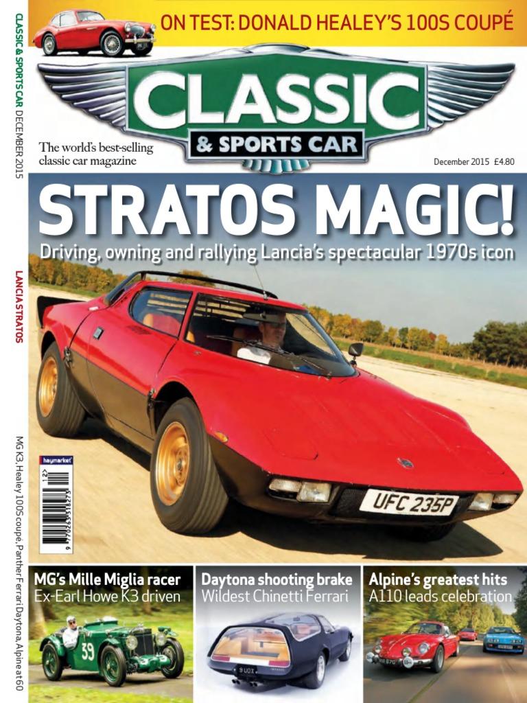 Classic & Sports Car  PDFDrive.com .pdf   Mercedes Benz   Ferrari