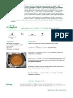 Ricettario - Vorwerk Contempora - marmellata di mele cotogne - 2014-11-19