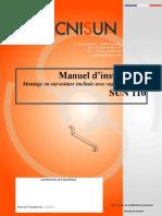 TECNISUN-SUN110-Manuel d'installation-Toiture Supports crochetés-020610