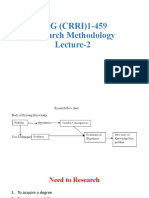 Research Methodology L-2