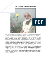 Father of Indian Plant Anatomy