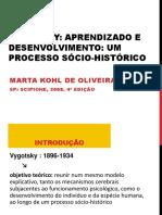 4 - Vygotsky - aprendizado e desenvolvimento